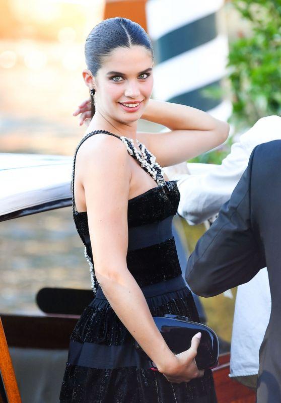 Sara Sampaio - Arriving at the 78th Venice International Film Festival 09/01/2021
