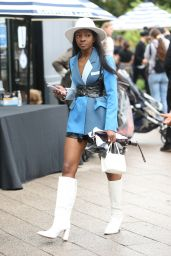 Sarah Adewumi – Monse Fashion Show at NYFW 09/09/2021