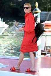 Sarah Gadon - Arrives at the 78th Venice International Film Festival 09/05/2021