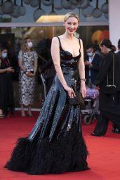 "Sarah Gadon – ""Dune"" Red Carpet at the 78th Venice International Film Festival"