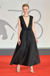 """Sarah Gadon - """"Mona Lisa And The Blood Moon"""" Red Carpet at the 78th Venice International Film Festival"""
