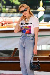 Sarah Gadon Street Style - Venice 09/06/2021