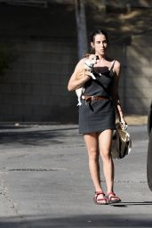 Scout Willis After pampering Herself With Cupping Session in LA 09/03/2021