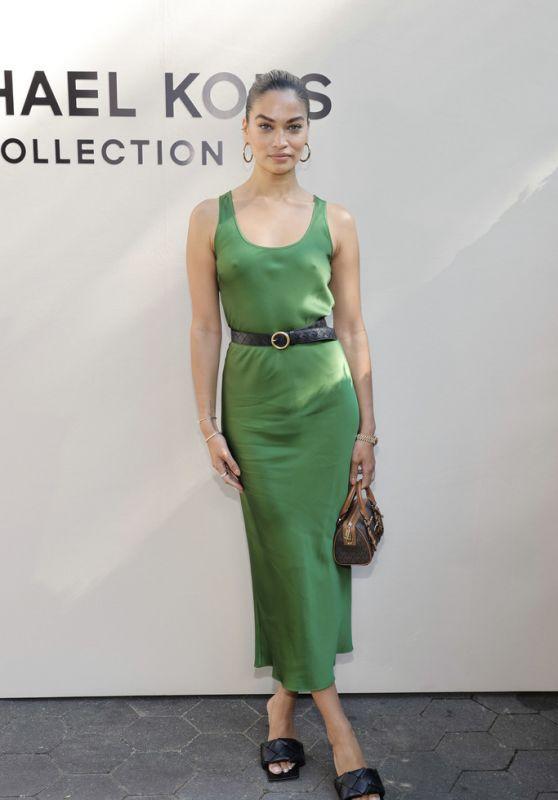 Shanina Shaik – Michael Kors Fashion Show in NYC 09/10/2021