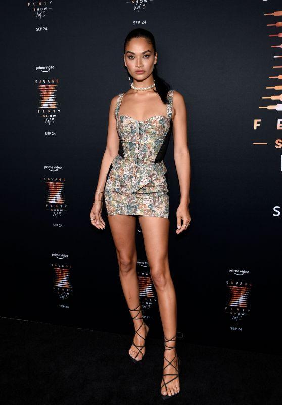 Shanina Shaik – Savage x Fenty Show Vol. 3 in LA 09/22/2021