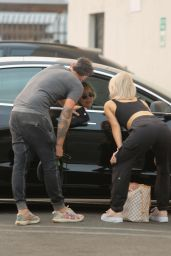 Sharna Burgess - Leaves DWTS Rehearsal Studio in Los Angeles 09/23/2021