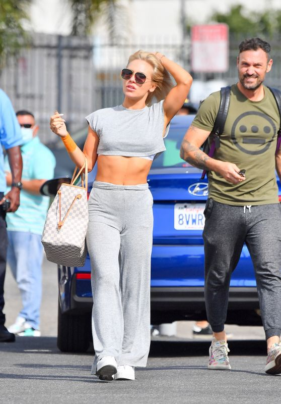 Sharna Burgess - Leaves Rehearsals for DWTS in LA 09/29/2021