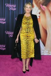 """Sharon Stone – """"The Eyes of Tammy Faye"""" Premiere in NYC 09/14/2021"""