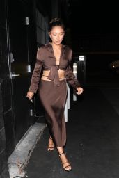 Shay Mitchell Night Out Style - Los Angeles 09/22/2021