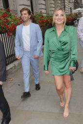 Sian Welby - Leaving TRIC Awards in London 09/15/2021
