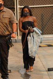Simone Biles at the El Capitan Entertainment Centre in Hollywood 09/23/2021