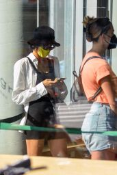 Sofia Boutella at Sweetgreen in Downtown Manhattan 09/13/2021