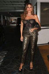 Sofia Vergara Night Out Style  - E-Baldi Restaurant in Beverly Hills 09/08/2021