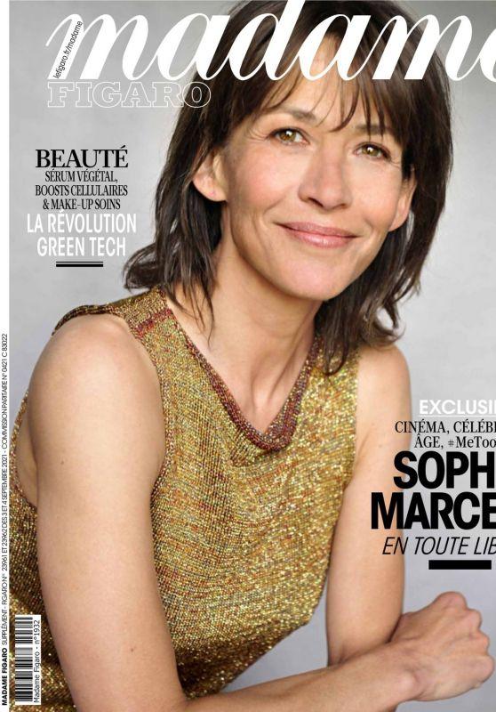 Sophie Marceau - Madame Figaro 09/03/2021 Issue