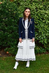 Sophie Skelton - Bora Aksu Show at London Fashion Week 09/17/2021