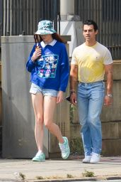 Sophie Turner and Joe Jonas - Out in New York City 09/20/2021
