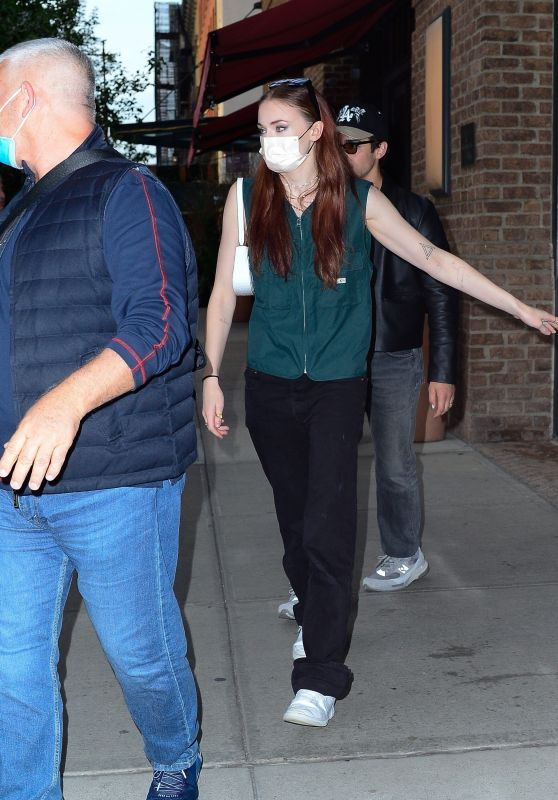 Sophie Turner - Leaves the Greenwich Hotel in Tribeca 09/25/2021