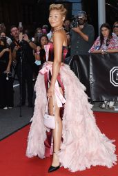 Storm Reid – Celebrities Departing The Mark Hotel in NYC for the 2021 Met Gala