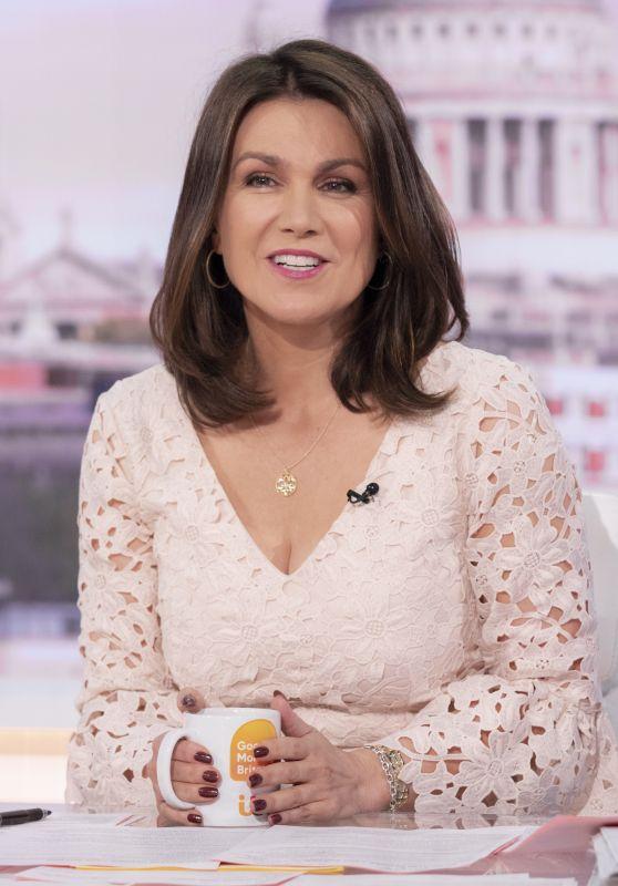 Susanna Reid - Good Morning Britain TV Show in London 09/20/2021