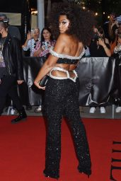 Taraji P. Henson on Her Way to Met Gala in NYC 09/13/2021