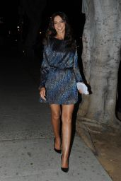 Terri Seymour - Leaving The Abbey after the Christmas in September Toy Drive Event in West Hollywood 09/21/2021