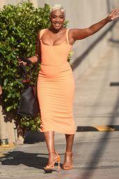 Tiffany Haddish - Arriving at Jimmy Kimmel Live! in LA 09/07/2021