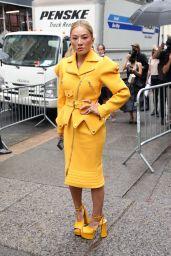 Tina Leung – Moschino Fashion Show in New York 09/09/2021