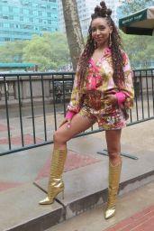 Tinashe – Moschino Fashion Show in New York 09/09/2021