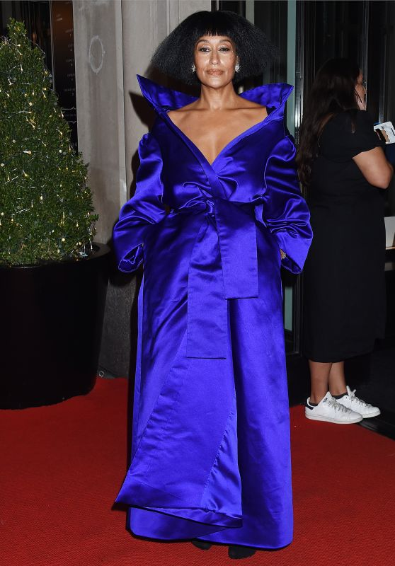 Tracee Ellis Ross – Celebrities Departing The Mark Hotel in NYC for the 2021 Met Gala