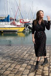 """Vanessa Demouy - """"Ici Tout Commence"""" Photocall at the 23rd TV Fiction Festival at La Rochelle"""