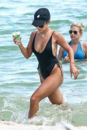 Vanessa Hudgens in a Bikini on a Beach in Miami 09/15/2021