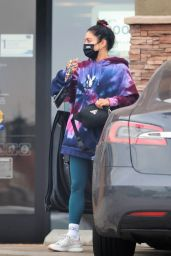 Vanessa Hudgens - Out in Los Angeles 08/31/2021
