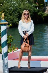 Virginie Efira - Arriving at Hotel Excelsior in Venice 08/31/2021
