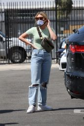Witney Carson at DWTS Rehearsal Studio in LA 09/06/2021