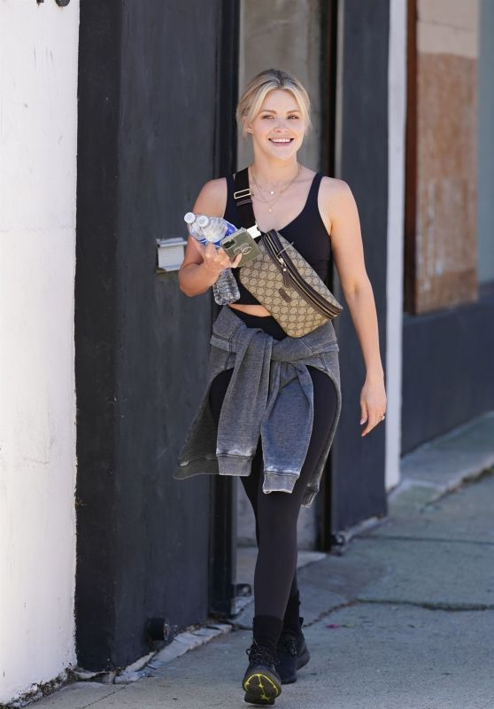 Witney Carson at DWTS Rehearsal Studio in LA 09/15/2021
