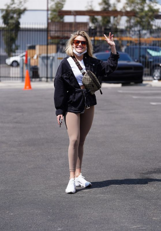 Witney Carson at DWTS Rehearsal Studio in Los Angeles 09/07/2021