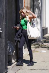 Witney Carson – Heads Into DWTS Rehearsal Studio in LA 09/21/2021