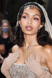 Yara Shahidi – Celebrities Departing The Mark Hotel in NYC for the 2021 Met Gala
