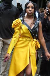 Yung Miami - Moschino Fashion Show in New York 09/09/2021