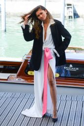 Zendaya Coleman - Arriving in Darsena for Day 3 of the Venice Film Festival 2021