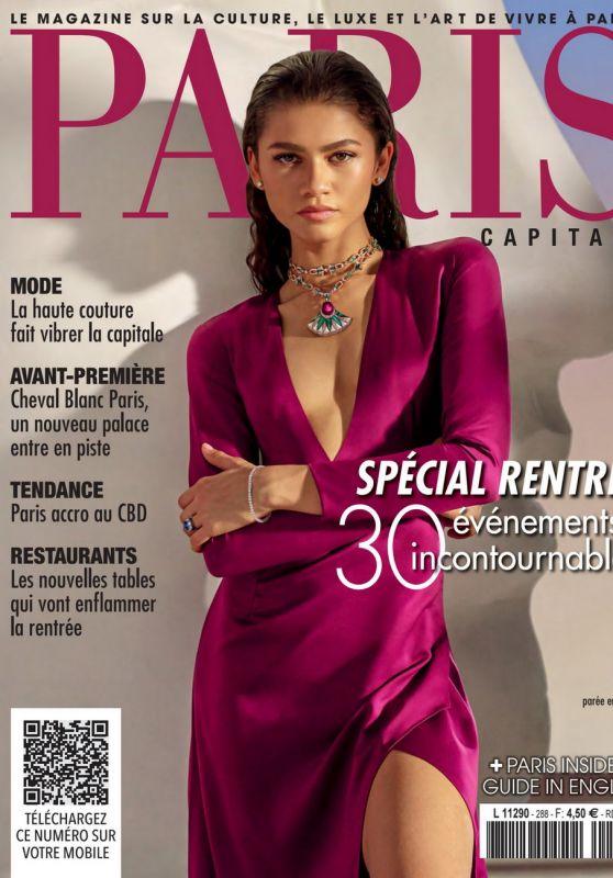 Zendaya - Paris Capitale Septembre 2021 Cover