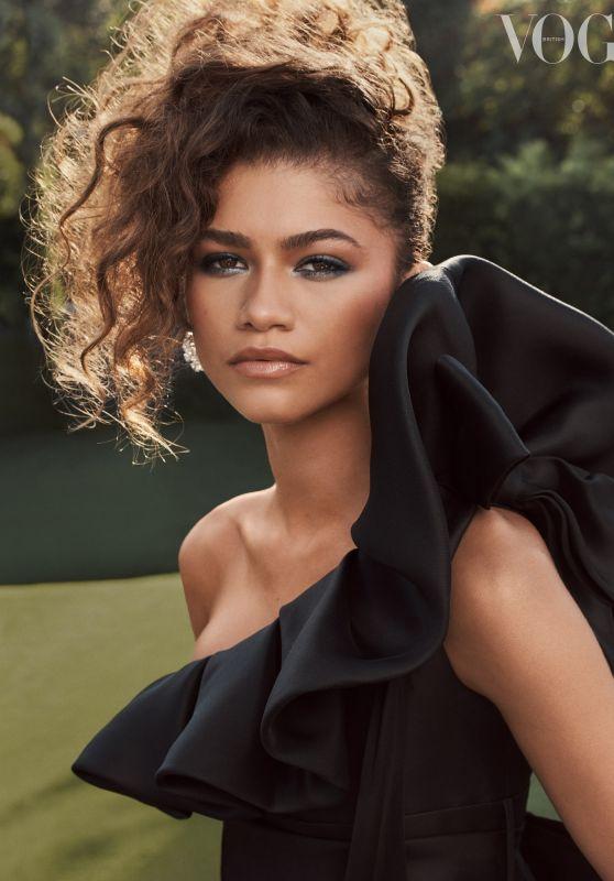 Zendaya - Vogue UK October 2021