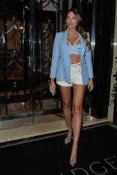 Zita Vass Night Out Style - Claridges Hotel in London 08/31/2021