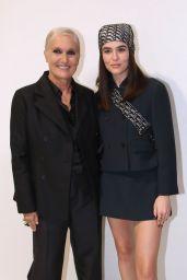 Zoey Deutch – Dior Show at the Paris Fashion Week 09/28/2021
