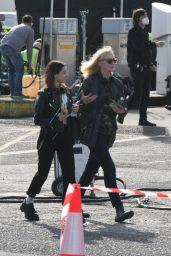 "Abigail Cowen - ""Fate: The Winx Saga"" Filming Set in Ireland 10/04/2021"