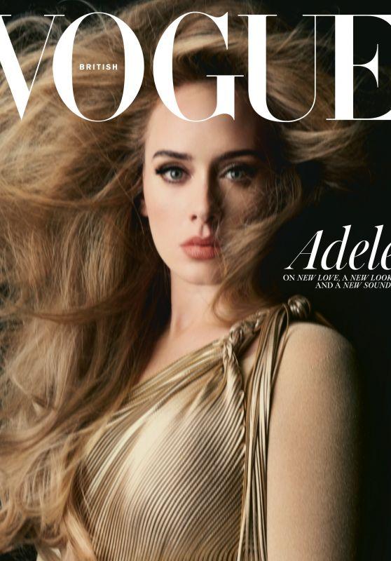 Adele - Vogue UK November 2021 Cover
