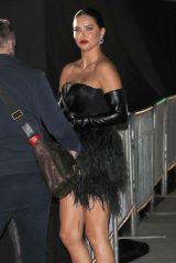 """Adriana Lima - Arrives to """"Spencer"""" Premiere in La 10/26/2021"""