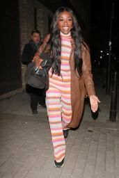 AJ Odudu at Strictly Takes Two Studios in London 10/13/2021