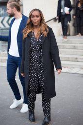 Aja Naomi King – Leaving L'Oreal Show at Paris Fashion Week 10/03/2021