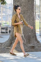 Alessandra Ambrosio - Out in Los Angeles 10/05/2021